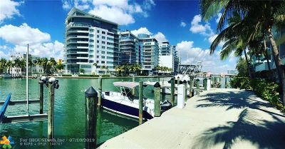Miami Beach Condo/Townhouse For Sale: 5970 Indian Creek Dr #501