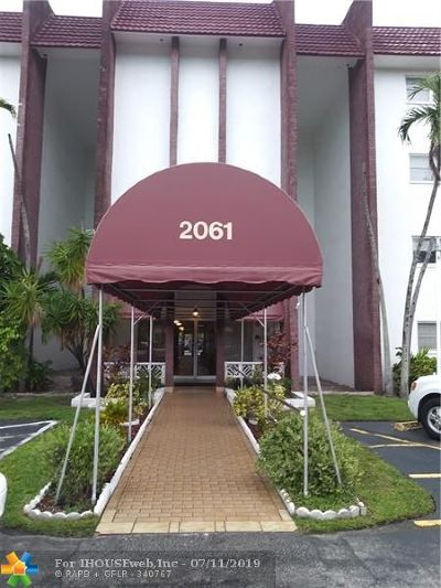 Lauderhill Condo/Townhouse For Sale: 2061 NW 47th Ter #411