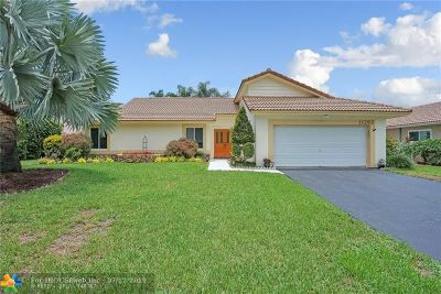 Coral Springs Single Family Home Backup Contract-Call LA: 11262 NW 15th St