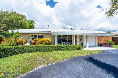 Pompano Beach Single Family Home For Sale: 431 SE 3rd Ave