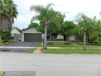 Margate Single Family Home For Sale: 2020 NW 70th Ave