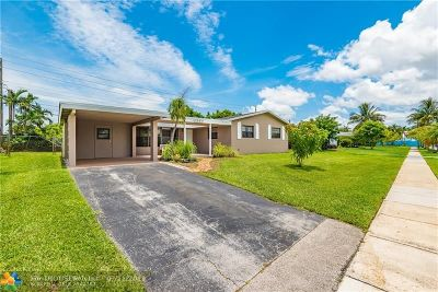 Margate Single Family Home Backup Contract-Call LA: 6387 NW 20th Ct