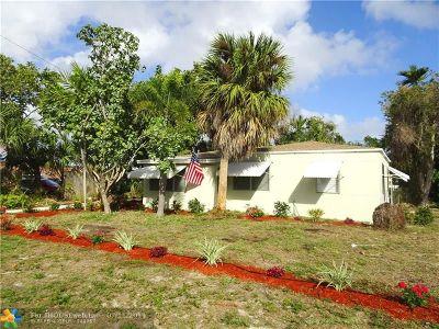 Pompano Beach Single Family Home Backup Contract-Call LA: 408 NE 19th Ave
