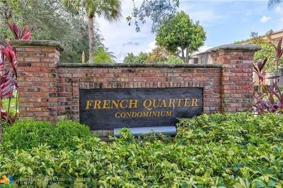 Plantation Condo/Townhouse For Sale: 400 NW 70 Avenue #211