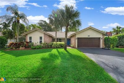 Coral Springs Single Family Home For Sale: 1701 NW 84th Dr