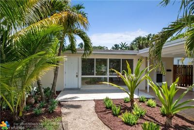 Fort Lauderdale Single Family Home For Sale: 3762 Riverland Rd