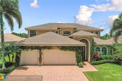 Coral Springs Single Family Home For Sale: 6038 NW 56th Cir