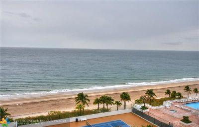 Pompano Beach Condo/Townhouse For Sale: 1360 S Ocean Blvd #1104