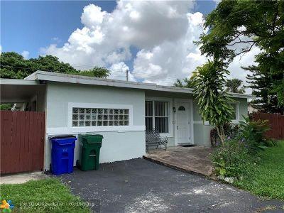 Margate Single Family Home For Sale: 5717 Seton Dr