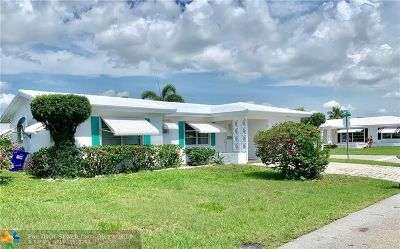 Pompano Beach Single Family Home For Sale: 3051 NW 1st Ave