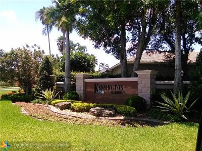 Coral Springs Single Family Home For Sale: 4919 NW 107th Ave