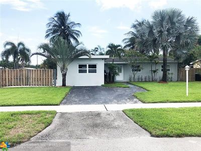 Fort Lauderdale Single Family Home For Sale: 2016 SW 27th Ter