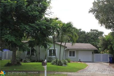 Fort Lauderdale Single Family Home For Sale: 1805 SW 24th Ter