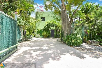 Wilton Manors Single Family Home For Sale: 401 NE 26 Drive