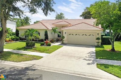 Coral Springs Single Family Home Backup Contract-Call LA: 2357 NW 101st Way