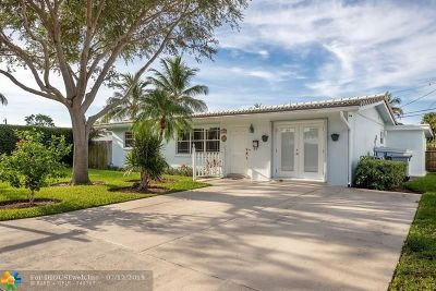 Pompano Beach Single Family Home For Sale: 2560 NE 21st St