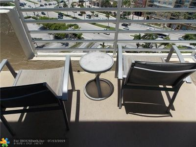 Fort Lauderdale Condo/Townhouse For Sale: 2670 E Sunrise Blvd #1415