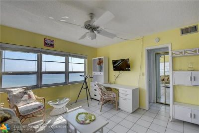 Lauderdale By The Sea Condo/Townhouse For Sale: 6000 N Ocean Blvd #12H
