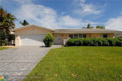 Fort Lauderdale Single Family Home For Sale: 1421 NE 54 Street