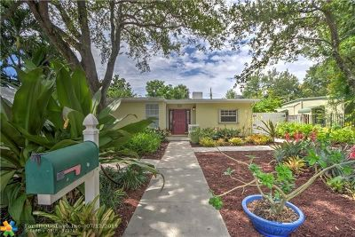 Fort Lauderdale Single Family Home For Sale: 1724 SW 13th Ct