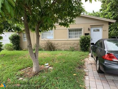 Delray Beach Single Family Home For Sale: 419 SW 10th St