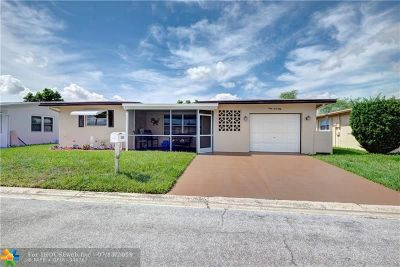 Margate Single Family Home For Sale: 6950 NW 11th St