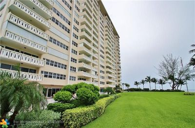 Fort Lauderdale Condo/Townhouse For Sale: 2100 S Ocean Dr #11E