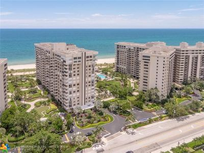 Lauderdale By The Sea Condo/Townhouse For Sale: 5000 N Ocean Blvd #1510