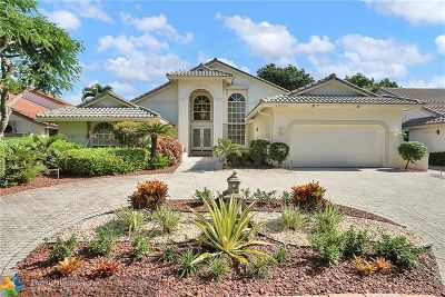 Coral Springs Single Family Home For Sale: 12177 Classic Dr