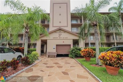 Pembroke Pines Condo/Townhouse For Sale: 12650 SW 15th St #209F