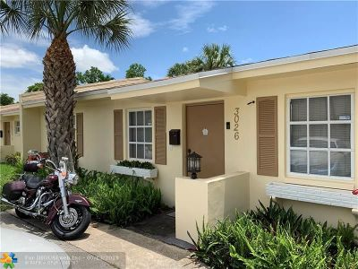 Fort Lauderdale Condo/Townhouse For Sale: 3026 NW 69th Ct #3E