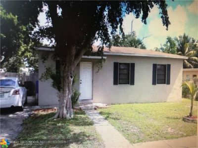 Fort Lauderdale Single Family Home For Sale: 1701 NW 14th Ct