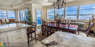 Fort Lauderdale Condo/Townhouse For Sale: 3430 Galt Ocean Drive #1706