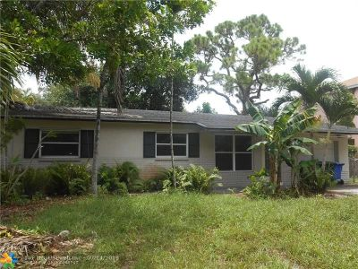 Fort Lauderdale Single Family Home For Sale: 1448 SW 10th St