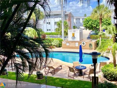 Lauderdale By The Sea Condo/Townhouse For Sale: 4117 Bougainvilla Dr #106