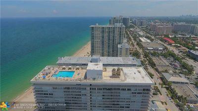 Fort Lauderdale Condo/Townhouse For Sale: 4020 Galt Ocean Dr #1106