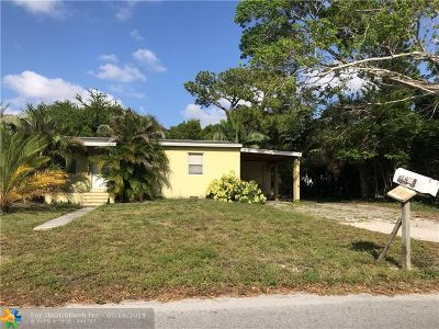Fort Lauderdale Single Family Home For Sale: 1428 NW 5th Av