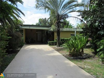 Tamarac Single Family Home For Sale: 7018 NW 63rd St