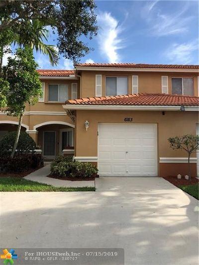 West Palm Beach Condo/Townhouse For Sale: 6183 Whalton