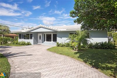 Pompano Beach FL Single Family Home For Sale: $540,000