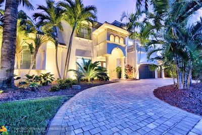Fort Lauderdale Single Family Home For Sale: 1008 N Mandarin Isle