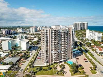 Fort Lauderdale Condo/Townhouse For Sale: 2701 N Ocean Blvd #4C