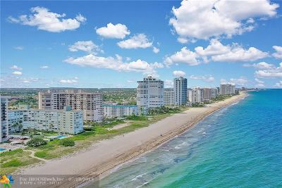 Lauderdale By The Sea Condo/Townhouse For Sale: 1850 S Ocean Blvd #504