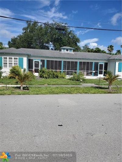 Fort Lauderdale Multi Family Home For Sale: 521-523 NE 16th Avenue