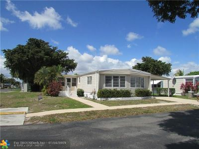 Deerfield Beach Single Family Home For Sale: 5321 NW 1st Ave