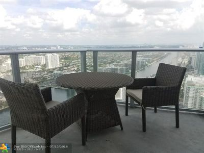 Broward County Condo/Townhouse For Sale: 4111 S Ocean Dr #3812