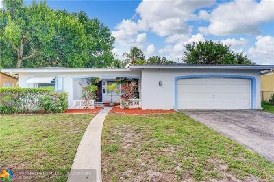 Broward County Single Family Home For Sale: 7508 Cleveland Street