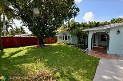 Fort Lauderdale Single Family Home For Sale: 1218 SW 21st Ct