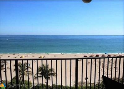 Pompano Beach Condo/Townhouse For Sale: 1500 N Ocean Blvd #605