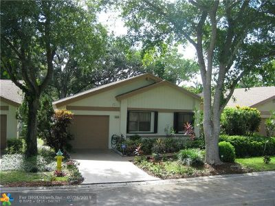 Coconut Creek Single Family Home For Sale: 4448 Cordia Cir